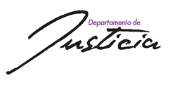 Logo:Departamento de  Justicia - Oficina del Procurador General